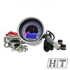Analógico 160 / estilo de cromo Koso Velocímetro Tacómetro km H ATV Quad