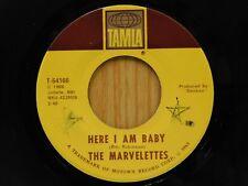 Marvelettes 45 Here I Am Baby bw Keep Off, No Trespassing - Tamla VG++
