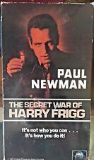 Secret War of Harry Frigg (VHS) 1967 WWII satire stars Paul Newman, Tom Bosley