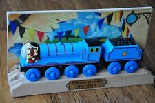 THOMAS TANK TRAIN Wooden Railway Engine -Better View for GORDON Limited Edition