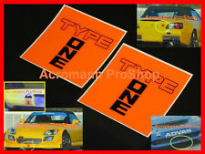 "2x 2.75"" 7cm Spoon Type One Decal Sticker sports JDM s2000 dc5 dc2 rsx civic fd2"