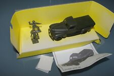 Solido collection militaire I 1/43 6040 DODGE PICK UP & 2 soilder Chiffres US WW2