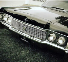 Tiarra Luxury Custom Chrome Mesh Grille Kit 1968 Lincoln Continental