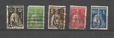 Portugal Royaume 1926 Cérès 5 timbres oblitérés /T9073