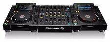PIONEER DJ BUNDLE - (2) CDJ-2000 NXS2 PRO MEDIA PLAYERS + DJM 900 NXS2 DJ MIXER