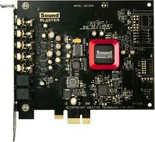 Crative Sound Blaster SB1500 ZPCIe Gaming Sound Card - Card only