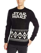 BNWT Sealed Men's S Star Wars Black Christmas Holiday Sweater