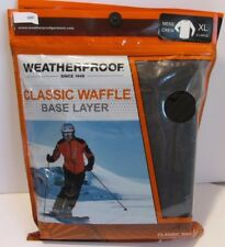 Weatherproof base layer shirt Mens Black L & Xl Motorcycle long sleeve (7-1889C1