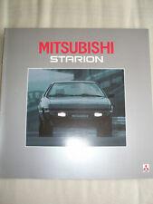 Mitsubishi Starion brochure Sep 1984 Swiss market German & French text