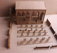 Bâtiment Commercial église Wood Scenery terrain pour Warhammer 40k ou wargames