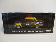 ( GOL ) 1:18 Kyosho Fiat 131 Abarth 1977 Rally New Zealand NEU OVP