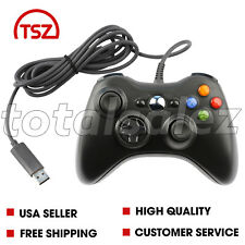 For Xbox 360 Black USB PC Windows Video Game Pad Controller Remote PC Windows