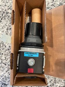"""NEW, Wilkerson R28-06-F000B Air Pressure Regulator,3/4"""" Pipe Size FREE SHIPPING"""