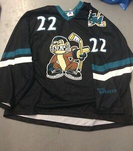 Evil Monkeys Hockey Club #22 Jersey 3XL Premier League NY Family Guy
