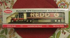 Peterbilt 379 Conventional Tractor/Trailer 1/64th Scale Lockable Bank Die-Cast