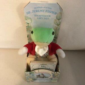Beatrix Potter Mr. Jeremy Fisher™ Storybook Gift Set New / NRFB