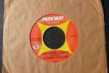 "7"" Chubby Checker - Hey, Bobba Needle - USA Parkway"