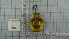 VINTAGE PULLEY FOR A FRIESIAN TAIL OR STOEL CLOCK