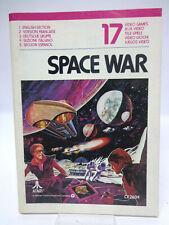 Anleitung - Handbuch - Bedienungsanleitung Atari - Space War