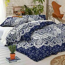 Indian Mandala Cotton Duvet Covet Comforter Set Quilt Cover Bedding Bedspreads