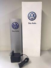 Volkswagen Reclame zuil met verlichting. Hoogte 28cm Werbesäule mit Beleuchtung