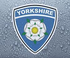 Yorkshire county rose bouclier-imprimé couleur vinyle autocollant graphique-prn 1062