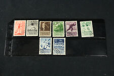 Russia USSR 1938 Sc# 698-705 Used VF Full Set Sports Stamps