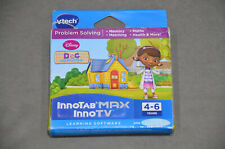 VTech InnoTab MAX InnoTV Doc McStuffins Learning Game Brand New In Box