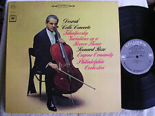 Leonard Rose-Eugene Ormandy/Dvorak Cello Concerto/2 Eye Columbia MS 6714/EX+