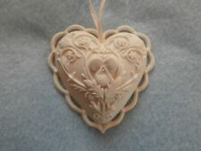 Margaret Furlong Wings Of Love Heart Shaped Christmas Ornament 1995 W/ Box
