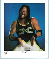 WWE X-PAC P-545 OFFICIAL LICENSED AUTHENTIC ORIGINAL 8X10 PROMO PHOTO VERY RARE