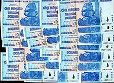20 x ZIMBABWE $100 TRILLION DOLLARS - $100,000,000,000,000 - Uncirculated -  ABZ