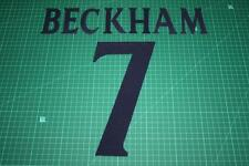 Manchester United 99/00 #7 BECKHAM UEFA Chaimpons League Awaykit Printing