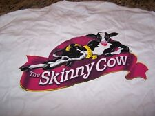 Nestle Skinny Cow S/S T-Shirt WHITE Men's XL~ NWOT