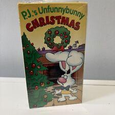 P.J. Funnybunny: P.J.'s Unfunnybunny Christmas (VHS, 1998) PJ ABC Kidtime Video