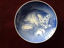 BING & GRONDAHL MORS DAG 1971 PLATE MOTHERS DAY CAT & KITTEN