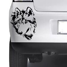 Wolf Car Window Bumper Wall Laptop Mac Book Xbox JDM VW  Vinyl Decal Sticker