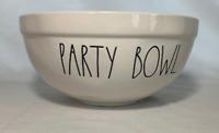 "Rae Dunn Ceramic 10"" Party Bowl Brand New!"