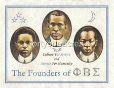 "FOUNDERS Series - Phi Beta Sigma Print - ""Service"" (Version 1)"
