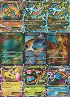 Pokemon 10 Card lot GUARANTEED 1 EX / GX/ Mega / Break   Mega Charizard ex?