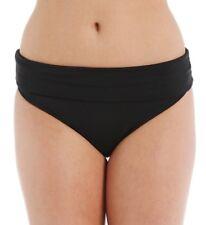 Panache BLACK Anya Folded Waist Swim Bottom, US XL