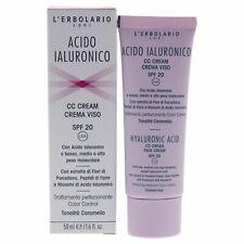 Lerbolario Hyaluronic Acid Facial Cc Cream Spf 20 - Caramel Hue - 1.6 oz Makeup