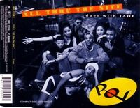 P.O.V. Duet With Jade Maxi CD All Thru The Night - Germany (M/EX+)
