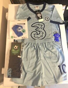 Christian Pulisic Chelsea Youth Uniform Jersey Shorts Socks + More Soccer New