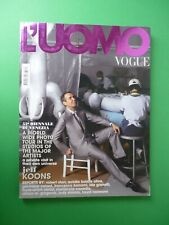 L'Homme Vogue Italie Mai Juin 2007 #381 May June Jeff Koons Matthew Barney