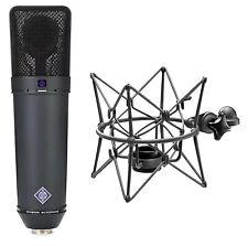 Neumann U 87 Ai MT Mikrofon Microphone Mikro Studio Gesang Mikrofone + Spinne