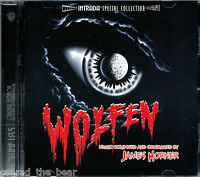 """James Horner """"WOLFEN"""" score Intrada Limited Edition CD Sold Out"""