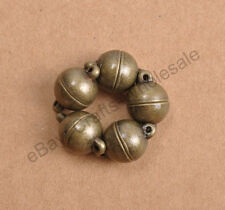 10Sets Silver/Gold Plated Powerful Magnet Clasps Findings Choose - 6MM 8MM 10MM