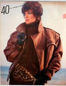 """LINDA GRAY DALLAS 8.75"""" X 10.75"""" Magazine Photo Page Clipping 1980's M45"""