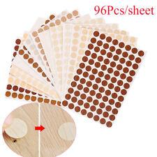 96Pcs/sheet PVC Self Adhesive Screw Cover Caps Stickers Furniture Hole Ornament~